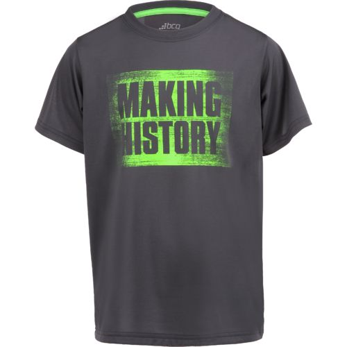 Display product reviews for BCG Boys' Making History Training T-shirt