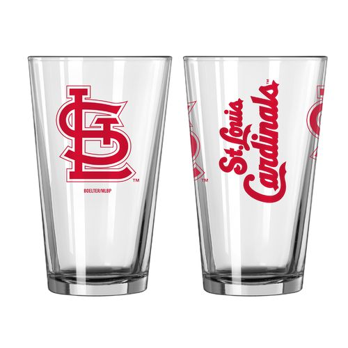 Boelter Brands St. Louis Cardinals Game Day 16 oz. Pint Set