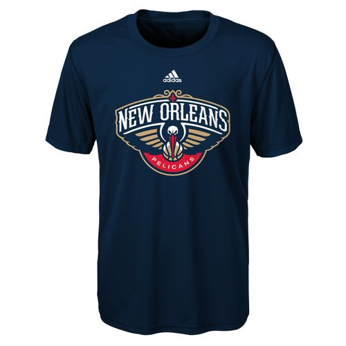 adidas™ Boys' New Orleans Pelicans Primary Logo T-shirt