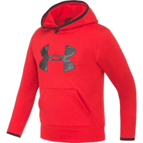 Under Armour™ Little Boys Camo Big Logo Pullover Hoodie