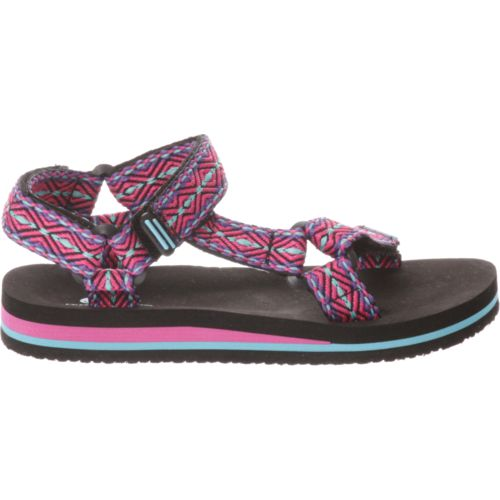 O'Rageous Girls' Print Sport Sandals