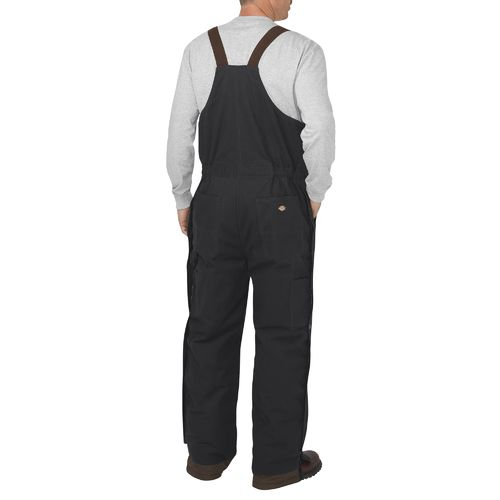 Dickies Men's Flex Sanded Stretch Duck Insulated Bib Overall - view number 2