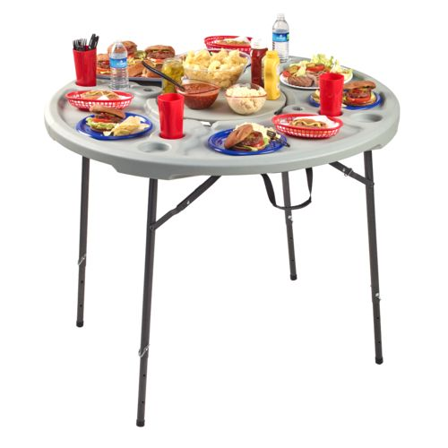 Academy Sports + Outdoors 4 ft Round Folding Cookout Table - view number 5