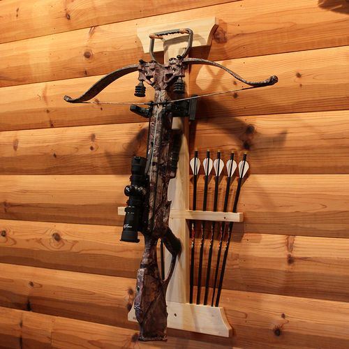 Rush Creek™ Realtree Crossbow and 10-Arrow Storage Rack - view number 3