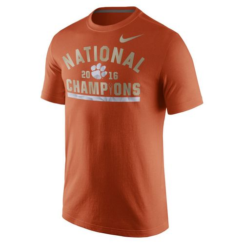 Nike Men's Clemson University 2016 National Champions Celebration Stripe T-shirt