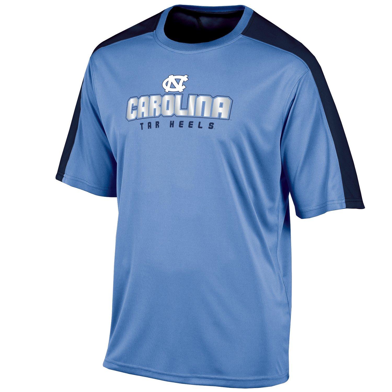 Champion men 39 s university of north carolina colorblock t for University of north carolina t shirts