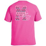 Image One Women's Missouri State University Ikat Letter Script T-shirt - view number 1