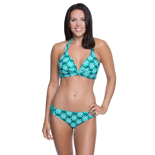 Aqua Couture™ Women's Arabian Tiles Halter Swim Top