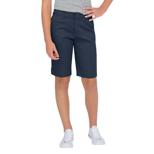Dickies Girls' Stretch Classic Fit Bermuda Short