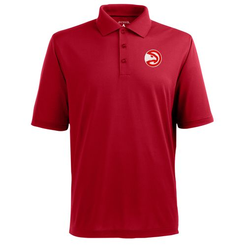 Antigua Men's Atlanta Hawks Pique Xtra-Lite Polo Shirt