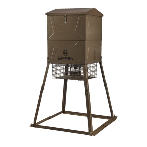 Game Winner 600 lb Cube VP Deer Feeder - view number 1