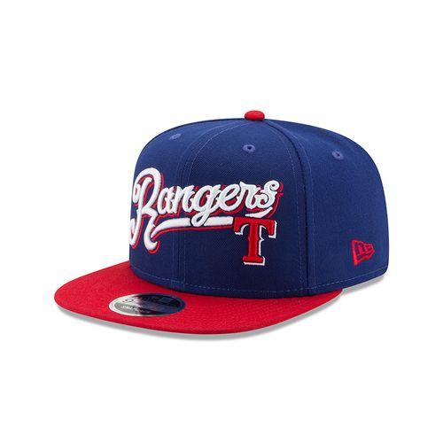 New Era Men's Texas Rangers 9FIFTY® Logo Sweep Cap