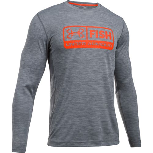 Under Armour Men's Fish Hunter Tech Pill Long Sleeve T-shirt