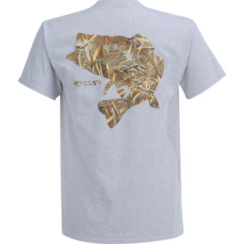 Costa Del Mar Men's Camo Bass Short Sleeve T-shirt