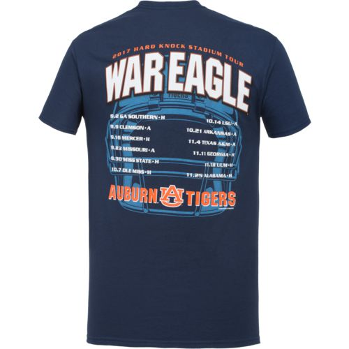 New World Graphics Men's Auburn University Football Schedule '17 T-shirt