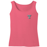 Image One Women's Texas Tech University Comfort Color Tank Top - view number 2