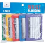 Academy Sports + Outdoors Youth Wrist Playbooks 5-Pack - view number 1
