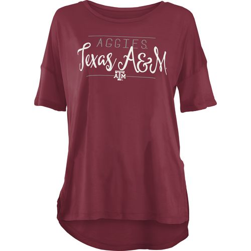 Three Squared Juniors' Texas A&M University Script T-shirt