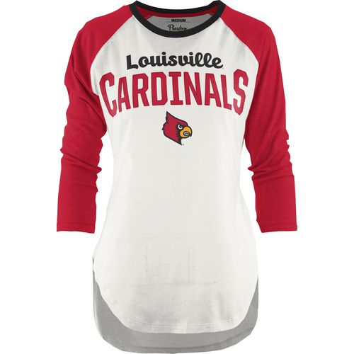 Three Squared Juniors' University of Louisville Quin T-shirt
