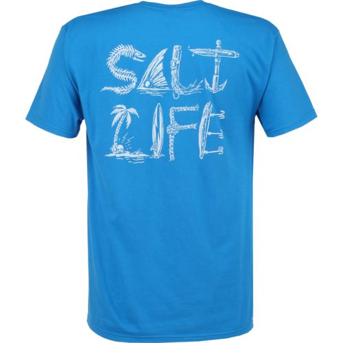 Salt Life Men's Icons of Salt Short Sleeve T-shirt