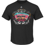 Majestic Men's San Antonio Spurs Day of the Dead 2017 Fiesta Style T-shirt - view number 1