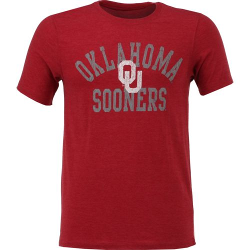 Colosseum Athletics Men's University of Oklahoma Vintage T-shirt - view number 1