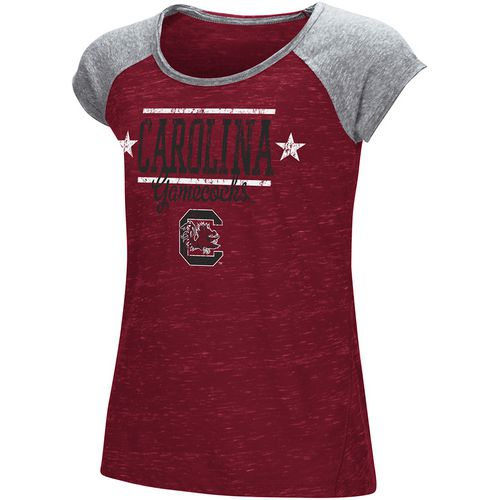 Colosseum Athletics Girls' University of South Carolina Sprints T-shirt
