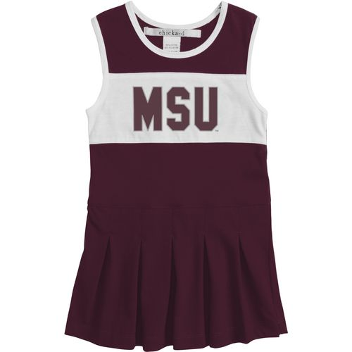 Chicka-d Girls' Mississippi State University Cheerleader Dress
