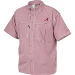 Drake Waterfowl Men's University of Alabama Gameday Wingshooter's Short Sleeve Button-Down S - view number 1