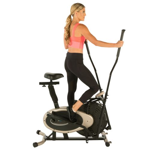 Exerpeutic GOLD XL9 Aero Elliptical and Exercise Bike Dual Trainer - view number 12