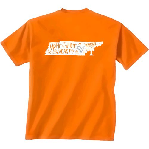 New World Graphics Girls' University of Tennessee Where the Heart Is Short Sleeve T-shirt