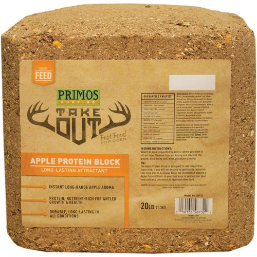 Primos Take Out 20 lb Apple Protein Block