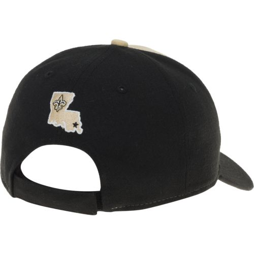 New Era Men's New Orleans Saints 9FORTY The League Blocked Cap - view number 3