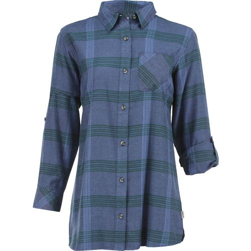 Magellan Outdoors Women's Adventure Gear Springbrook Plaid Long Sleeve Shirt