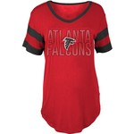 5th & Ocean Clothing Women's Atlanta Falcons Sleeve Stripe Fan T-shirt - view number 1