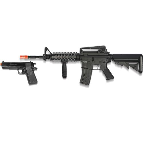 Display product reviews for SIG SAUER Patrol Electric Airsoft Rifle and Pistol Kit