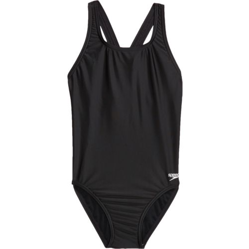 Speedo Girls' Solid Super Pro One-Piece Swimsuit - view number 1