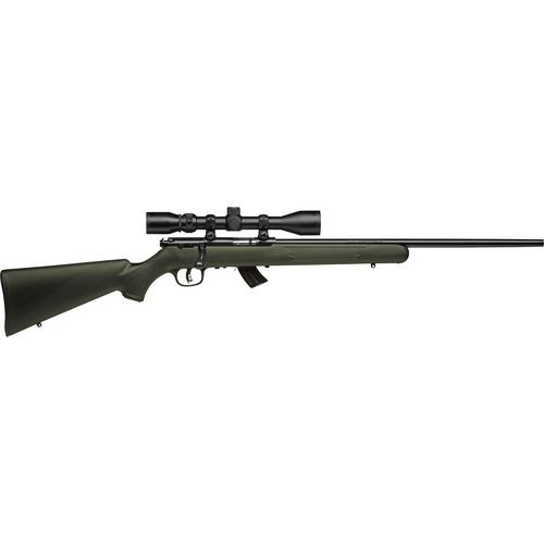 Savage Arms Mark II FXP .22 LR Bolt-Action Rifle with Scope