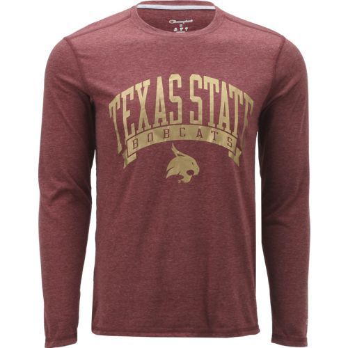 Champion Men's Texas State University In Pursuit Long Sleeve T-shirt