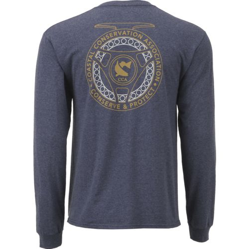 CCA Men's Fly Rod Long Sleeve T-shirt