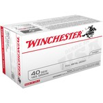 Winchester USA FMJ   .40 Smith & Wesson 165 -Grain 100-round Handgun Ammunition - view number 1
