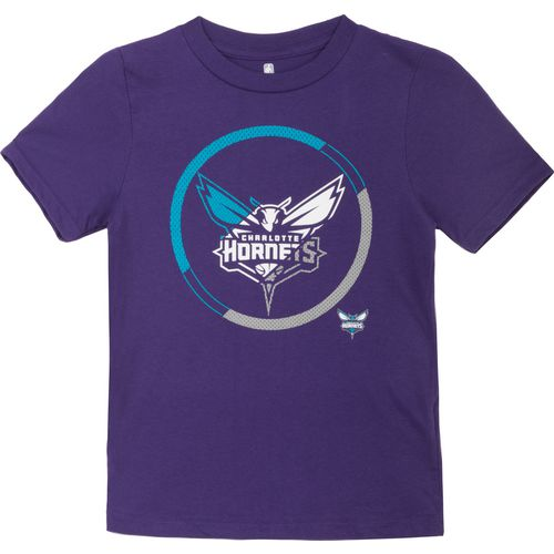 NBA Boy's Charlotte Hornets Double Slice Short Sleeve T-shirt
