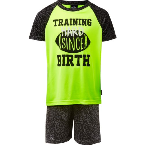 Spalding Boys' Training Since Birth T-shirt and Shorts Set