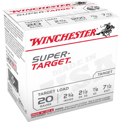 Display product reviews for Winchester Target Load 20 Gauge 7.5 Shotshells