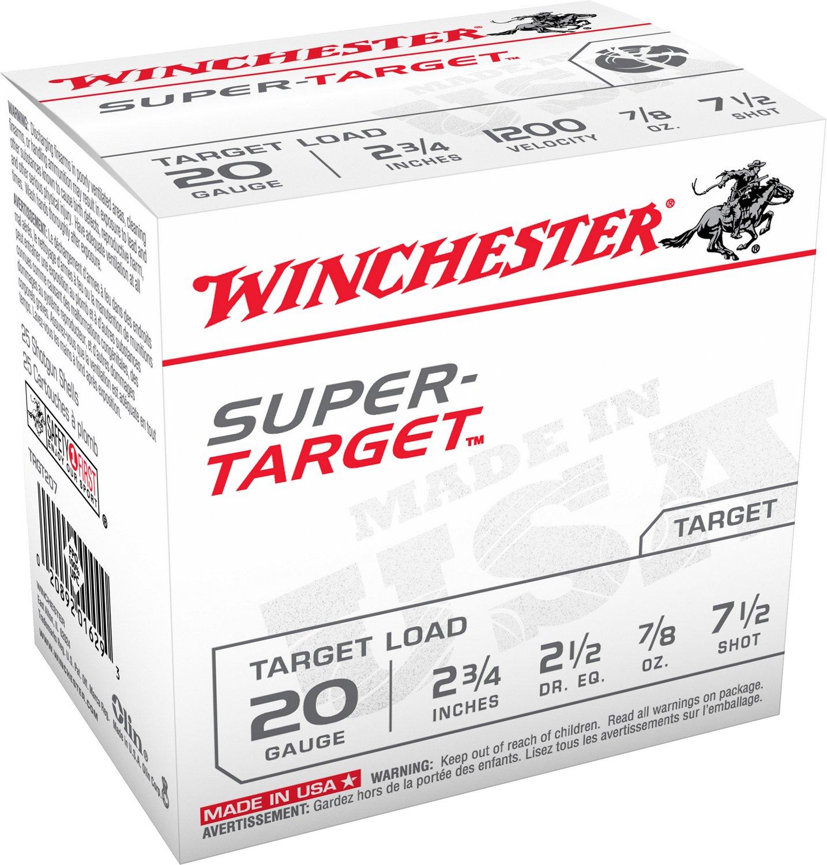 Winchester Target Load 20 Gauge 7.5 Shotshells