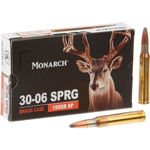 Monarch SP .30-06 Spring 150-Grain Rifle Ammunition