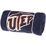 Logo University of Texas at El Paso Sweatshirt Blanket