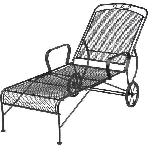Image For Mosaic Steel Mesh Lounger From Academy