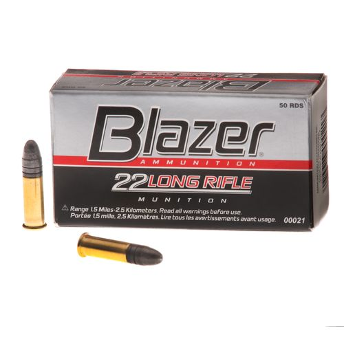 Display product reviews for Blazer® .22 LR 40-Grain High Velocity Rimfire Rifle Ammunition