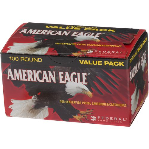 Display product reviews for American Eagle® 9mm Luger 115-Grain Centerfire Pistol Ammunition